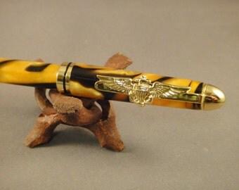 USN - Officer - Naval Aviator Pen Clip - Designer Pen