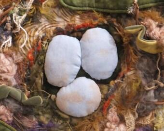 birds nest//gift for birder//thrush//birds nest fiber art