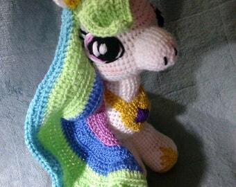 Crochet Princess Celestia My Little Pony