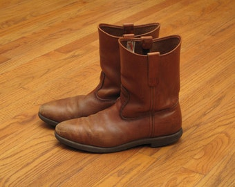 vintage Red Wing pecos boots