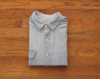vintage Ralph Lauren Western chambray shirt