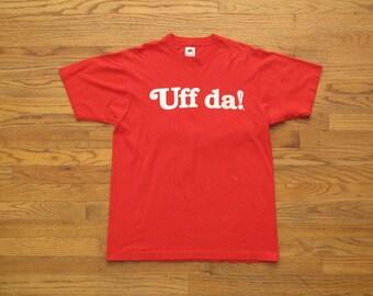 vintage Uff Da! t shirt
