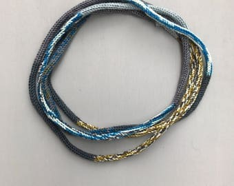 Hand Crafted Merino Wool Necklace/Bracelet Accessory