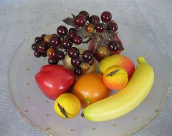 Faux Fruit / Vintage Plastic Fruit