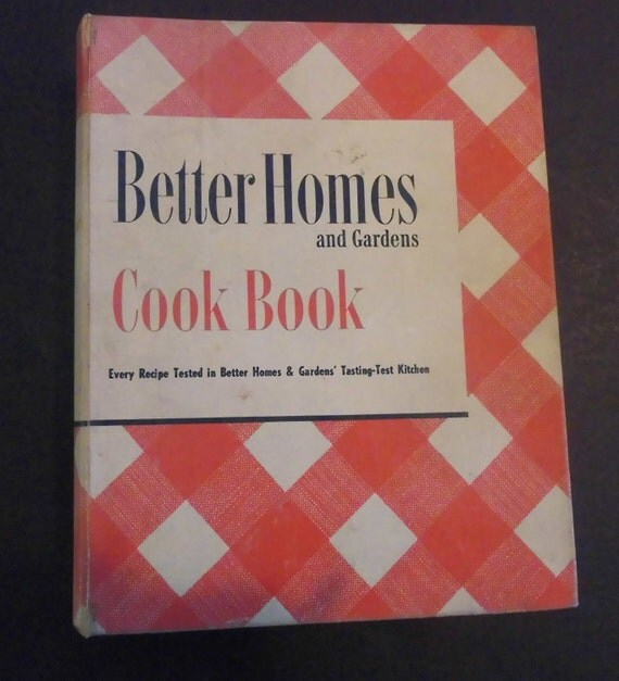 Better Homes And Gardens Cook Book 1951 Five Ring Binder