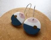 Sun Rise Hook Earrings...