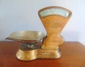 RESERVED for L Donot purchase Antique Toledo Candy Weight Scale, No Springs 3 Pound Scale, Made in Canada