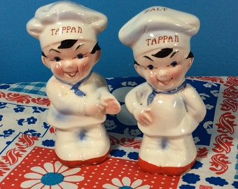 Tappan Salt and Pepper Shakers
