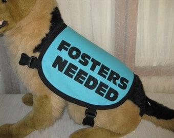 Dog Fosters Needed Vest MEDIUM