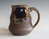 Ceramic Coffee Mug, 16 oz, handmade ceramic cup, handthrown mug, ceramic stoneware, pottery mug, unique coffee mug, ceramics and pottery