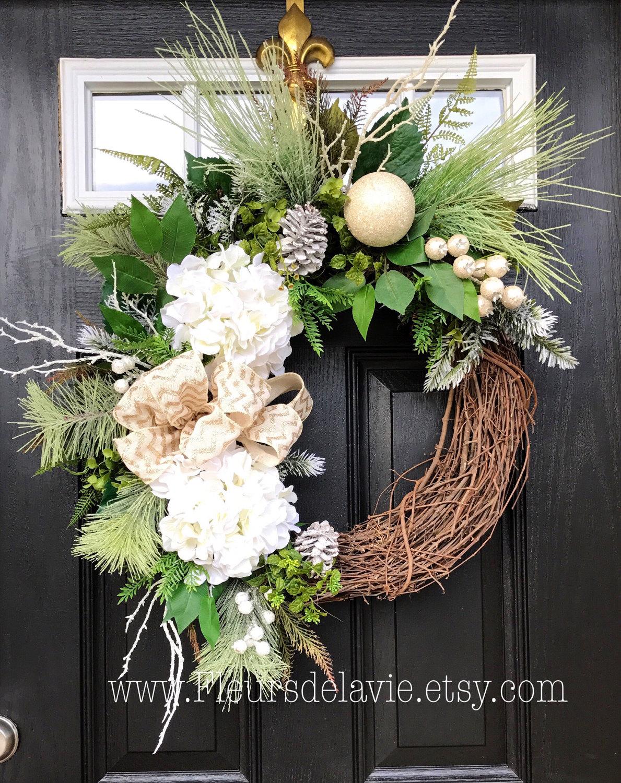 winter wreath for front door christmas door wreaths front. Black Bedroom Furniture Sets. Home Design Ideas