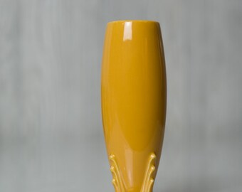 SALE Vintage Fiestaware Yellow Bud Vase