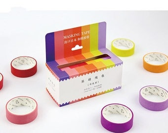 Japanese Washi Tape Set Masking Tape Planner Stickers