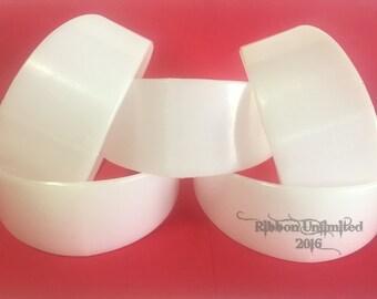 6 pc Wholesale Set of 2 Inch Plastic Headbands