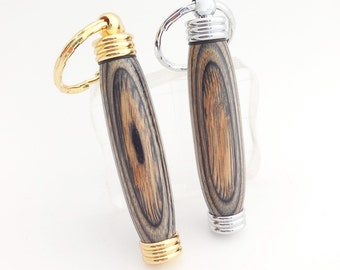 Wood Keychain, Secret Compartment