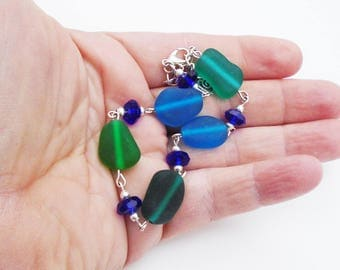Ocean Jewels Sea Glass bracelet