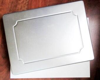 "Wilton Sheet Cake Pan 15"" x 11"" x 2"" with Reusable Custom Formica Cake Board"