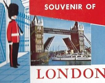 Vintage Mid Century Travel Souvenir - London, England