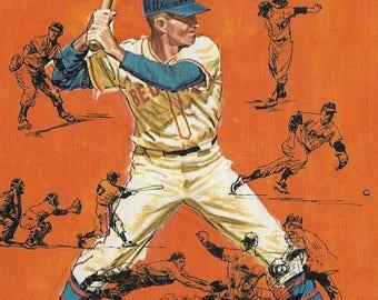 Vintage Mid Century Sports Book - Secrets of Big League Play - Robert Smith
