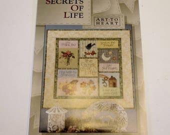 Art to Heart: Secrets of Life  (New Pattern)