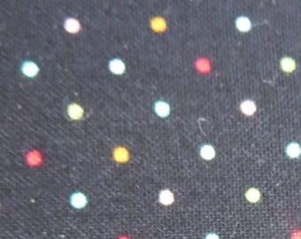 Moda - Essentially Yours Black Multi 8654 142 Moda Dots