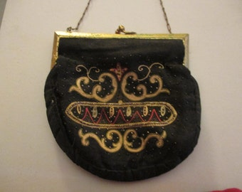 evening purse. 6x6..closes..
