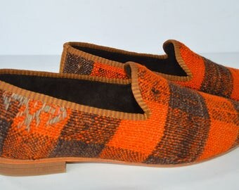 Free Shipping by DHL - Men Kilim loafer 41 Euro size
