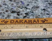 Reserved Listing for Sheriden and Dakarai the cat. Custom leather cat collar. Name, address, phone number etc. stamped in leather