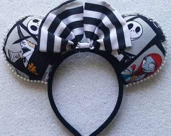 Nightmare Before Christmas minnie ears