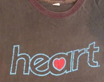 HEART 70s tour T SHIRT