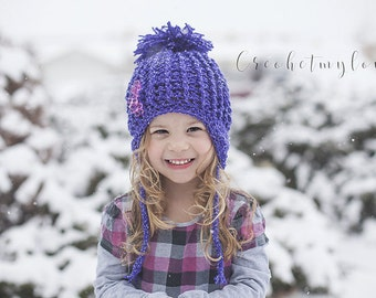 hat crochet patterns, crochet hat patterns, crochet pattern, hat patterns for girls, earflap hat patterns, crochet pattern, photo prop