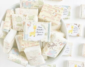 Baby Shower Favors; Personalized Favors; Mini Soaps Favors; baby shower Favor Ideas; Handmade Soap Favors; Boy Shower; Girl Shower; Giraffe