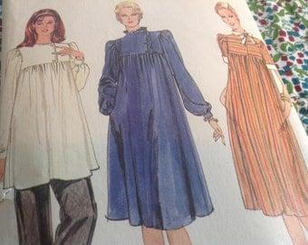 Vintage Vogue Pattern 8142, maternity pattern, 80's vogue pattern, size 10 pattern