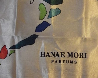 Beautiful Sephora  Hanae Mori Parfums Vintage Scarf - Butterfly Scarf done with a twist