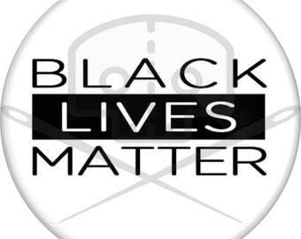 Black Lives Matter Button - Profits Donated