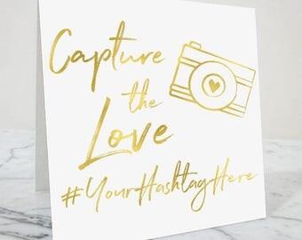 Hashtag Wedding Sign, Wedding Hashtags, Hashtag Sign, Wedding Hashtag Sign, Wedding Sign