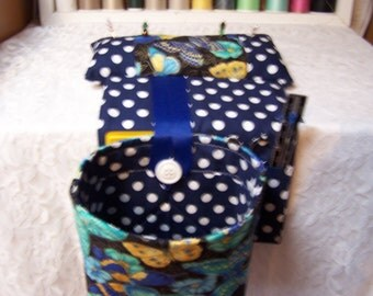 Scrap Bag pincushion organizer - thread catcher - snipetts - Crafters Scrap Bag - Sewing Scrap Bag - Quilting Scrap Bag - Quiolters Gift