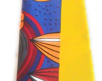 Yellos Mosaic African Ankara Tribal Print Head Wrap Gift Ideas For Mom Women  Turban Fashion  Holiday Fashion Scarf Mothers Day Gift For Mom