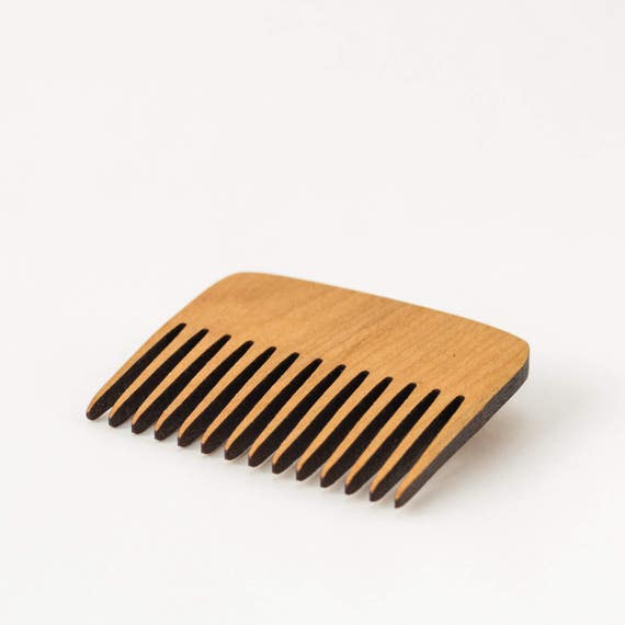 Wood Hair Comb - Portable Wooden Comb - Hair Accessory - Hair Comb - Natural Hair Comb