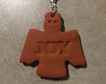 Only One!! Terra cotta Joy Angel diffuser pendant