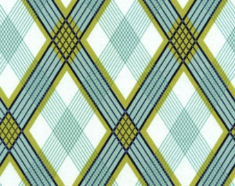 1 yard 17 inches Modern Meadow Picnic Plaid premium cotton fabric by Joel Dewberry for Free Spirit