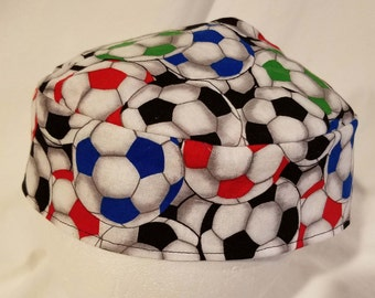 Soccer Balls Kippah Yarmulke Original Style Reversible Washable