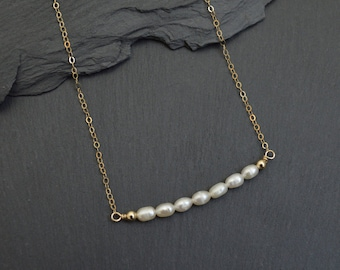 Mothers Day Gift - Pearl Necklace - Pearl Jewelry