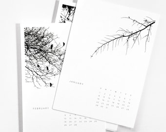 Rolling 12-Month Trees Calendar