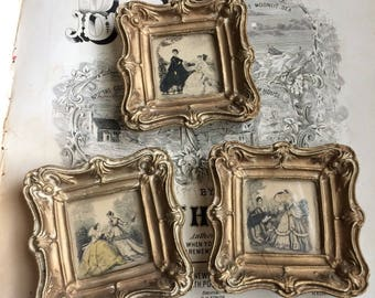 Your Doll House Will Thank You For These Vintage French Minature Fashion Prints