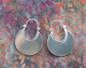 X-Large Crescent Moon Earrings (Relatively speaking)