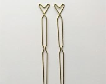 Tulip Hairpins