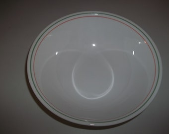 4 Corelle Island Breeze Cereal Bowls, Made in the USA