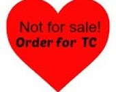 Not for SALE- Special Love Scrub Order