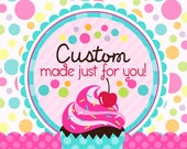 36 Fondant cupcake toppers--cats and dogs reserved for Laura